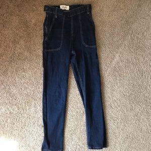 Tatyana 50's Rockabilly high waist jeans